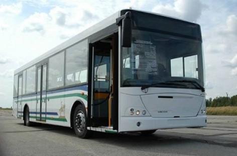 KAMAZ gamina autobusus Kolumbijoje