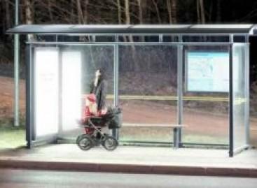 Nuo žiemos depresijos gelbės ryškus viešojo stotelių apšvietimas