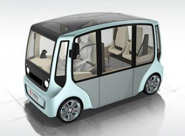 Šveicarai pristato lengvojo automobilio ir autobuso hibridą