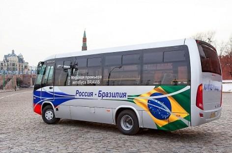 """KAMAZ pradėjo gaminti """"Bravis"""" autobusus"""
