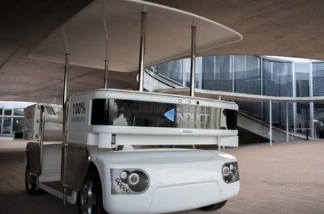 """""""Navia"""" – naujos kartos viešasis transportas"""