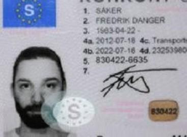 Autoportretas… ant vairuotojo pažymėjimo