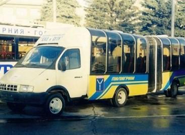 """Mikroautobusas su """"armonika"""""""