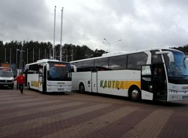 Šalyje daugėja naujų autobusų
