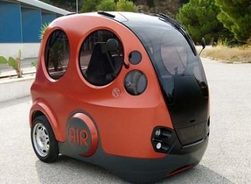 """""""AirPod"""" – automobilis, naudojantis suspaustą orą"""