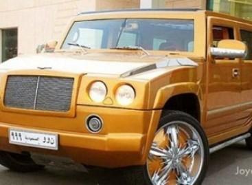 """Hummer"" ir ""Bentley"" hibridas – šeichui"