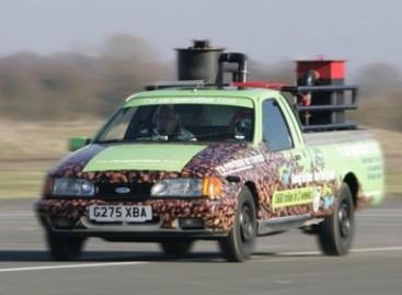 Kava varomas automobilis pasiekė pasaulio rekordą