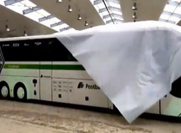 """""""Borussia"""" pristatė naująjį autobusą žirgyne (video)"""