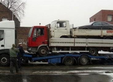 Lenkijos vairuotojas savo kroviniu šokiravo Vokietijos policininkus