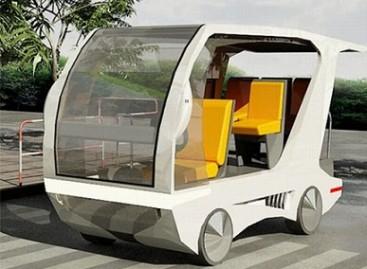 """Indoor Solar Car"" – ekologiškas miesto autobusas"