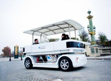 Prancūzijoje pristatytas miesto automobilis be vairuotojo