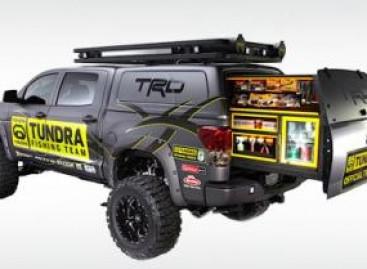 """Toyota"" pristato pikapą ""Tundra Pro Bass Anglers"""
