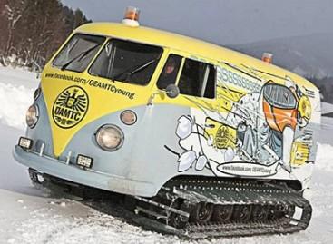 """Sniegobusas""  – iš populiariausio ""Volkswagen"""
