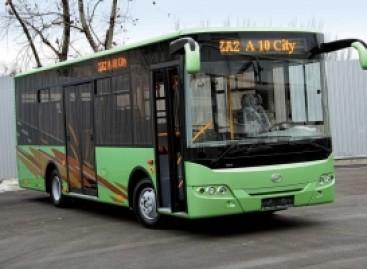ZAZ surinkinės autobusus Melitopolyje