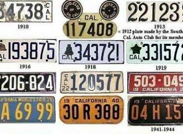 Įdomūs faktai apie automobilių numerius