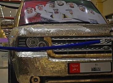 Arabų šeichams – monetomis dengti automobiliai