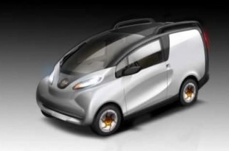 """Tata"" pristatė elektrinio mikroautobuso konceptą"