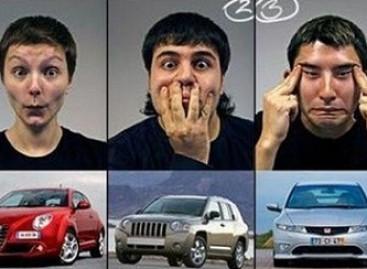 "Automobilių ""mimika"""