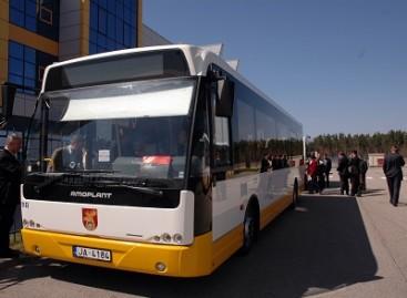 """Latviški autobusai gimsta """"AMO Plant"""" gamykloje"""