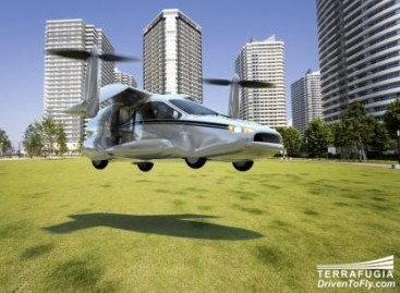 """Terrafugia"" kurs skraidantį automobilį, pakylantį vertikaliai (video)"