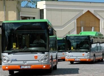 Klaipėdiečiams pristatyti nauji autobusai