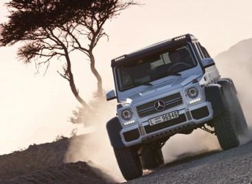 """Mercedes-Benz"" gamins milžiniškus visureigius"