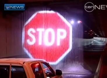 Australijoje – vandeniniai kelio ženklai