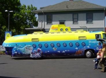 Pramogoms – kapitono Nemo transporto priemonė