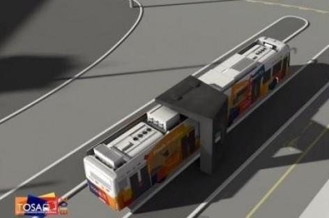 Ženevoje testuojami gretai įkraunami elektriniai autobusai (video)