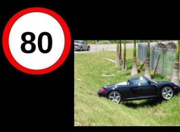 Kaip atrodo automobilis po avarijos važiuojant skirtingu greičiu?