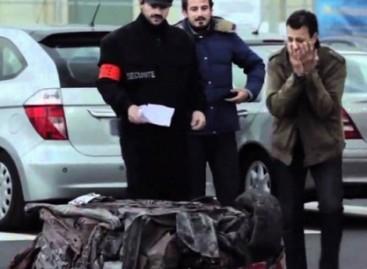 Iš automobilio – metalo krūva, arba nusišypsokite – jus išdūrė (video)