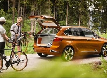 Naujas BMW – dviračių mėgėjams