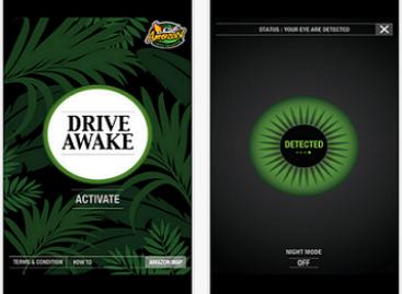 """""""Drive Awake"""" padės neužmigti prie vairo"""