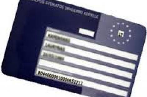 Europos sveikatos draudimo kortelė – keliautojų patogumui