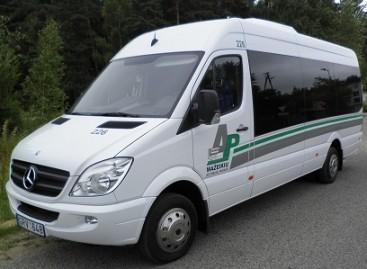 """Mažeikių autobusų parke – nauji """"Mercedes-Benz"""""""