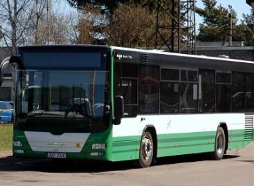 Taline – suspaustas gamtines dujas naudojantys autobusai
