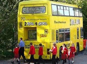 Autobuse – mokyklos klasė