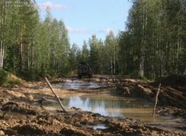 Neišvažiuojami Rusijos keliai