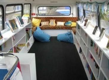 Autobusuose – bibliotekos bei skaityklos