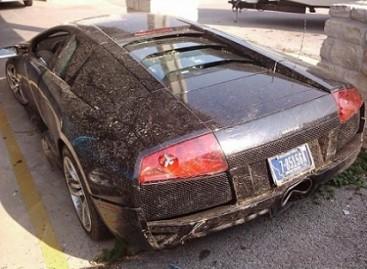 Brangus superautomobilis sudaužytas vos įsigijus