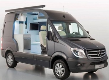 "Namai ant ratų – ""Mercedes Sprinter Caravan"""