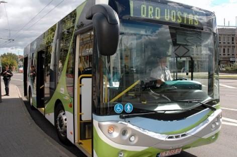 Elektrinis autobusas: patirtis Kaune