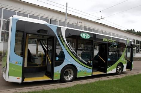 Lietuviškas elektrinis autobusas bus pristatytas ir Jonavos gyventojams