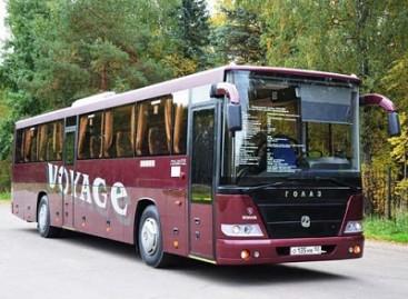 """Rusijos metų autobusu pripažintas """"Vojaž"""""""