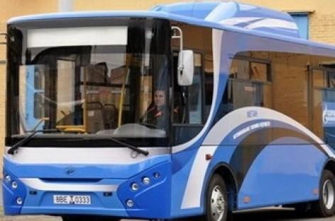 """Pristatytas dujinis """"Radzimič"""" autobusas"""
