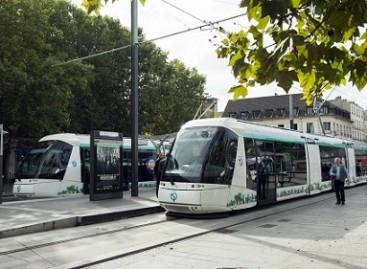 """""""Translohr"""" tramvajus – Paryžiuje"""