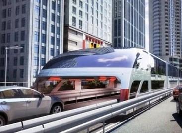 Kinijoje pristatytas autobusas tunelis