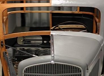 Energetikos muziejuje – apie rėminę automobilio konstrukciją