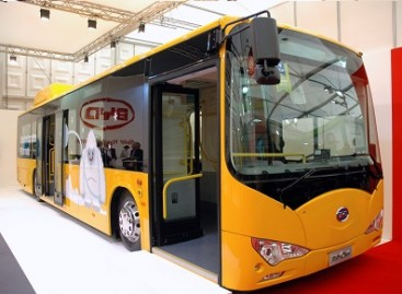 """Busworld Europe 2013"" – elektrinis ""eBus"""