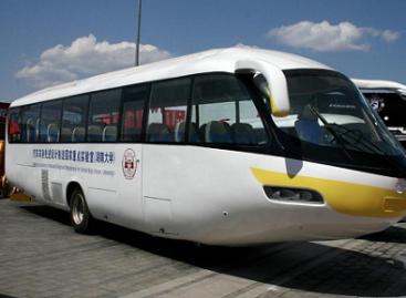 Autobusas – dviem ratais?